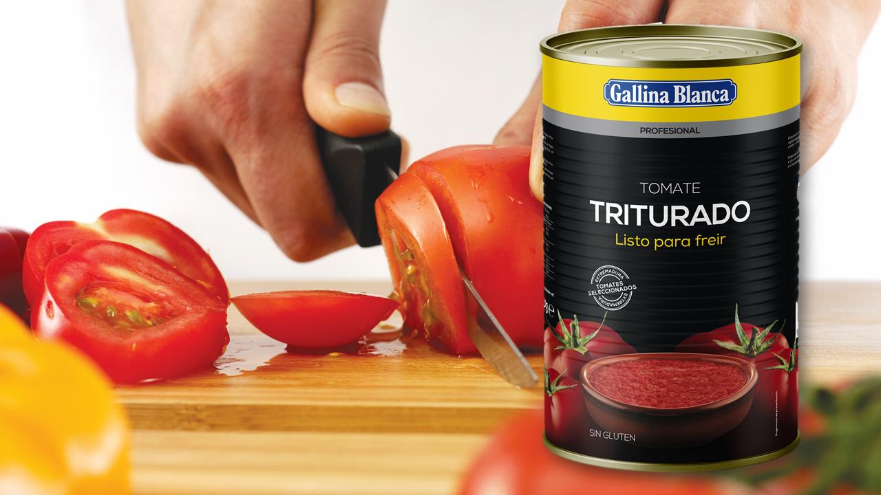composición tomate