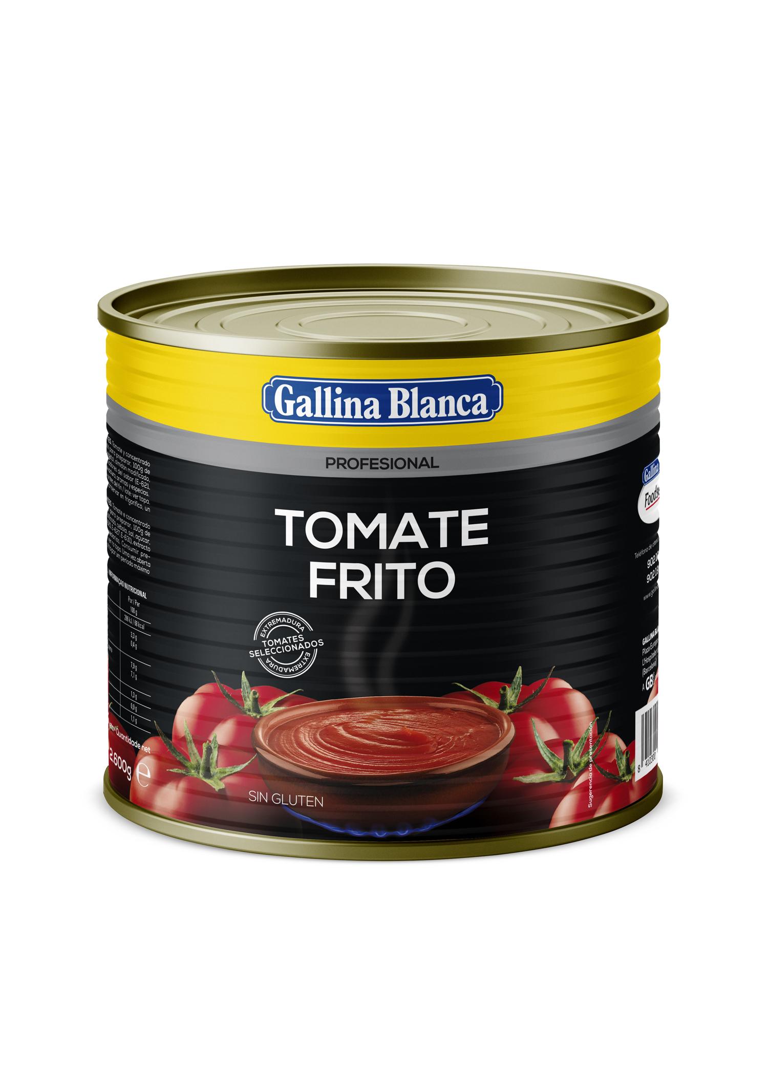 Tomate frito en lata 2,5kg