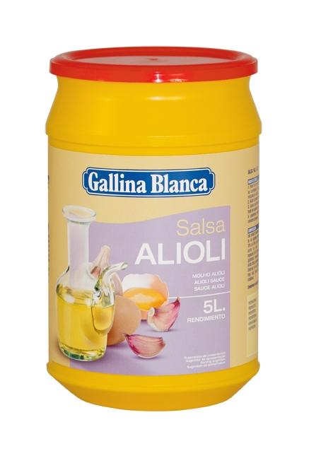 Salsa Alioli deshidratada