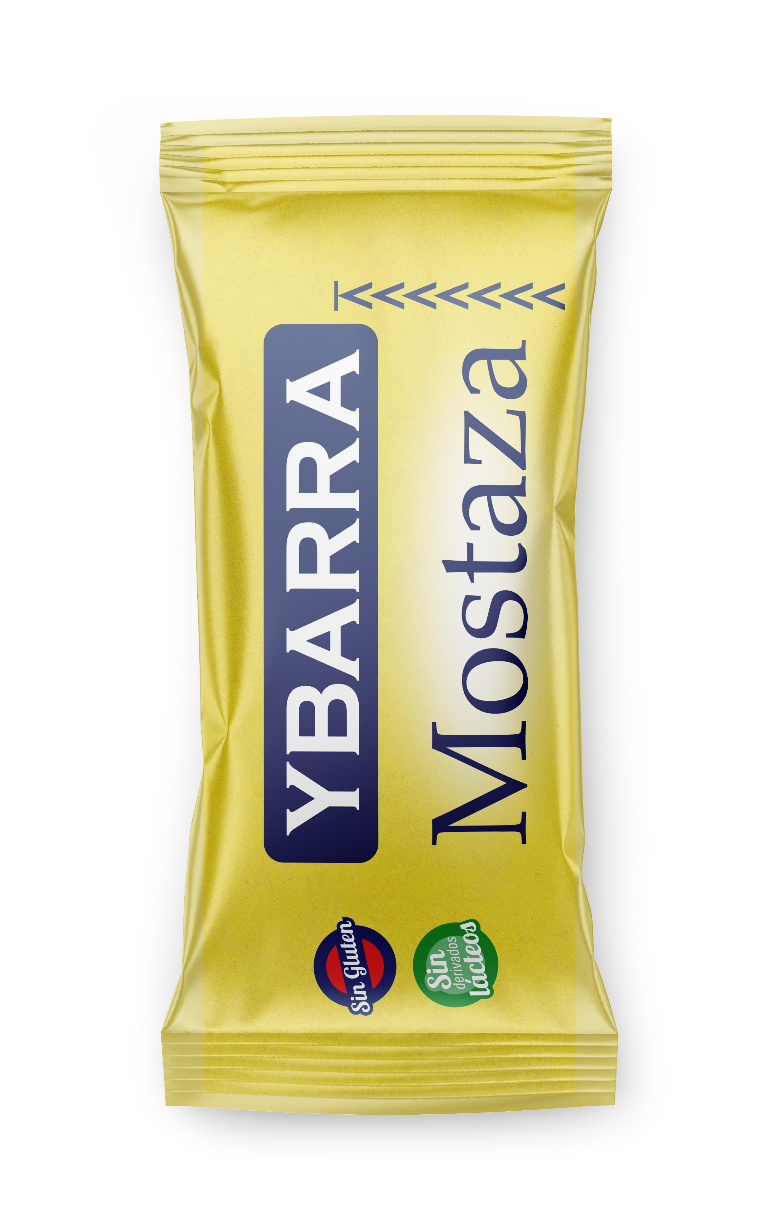 Salsa Mostaza monodosis 12gr