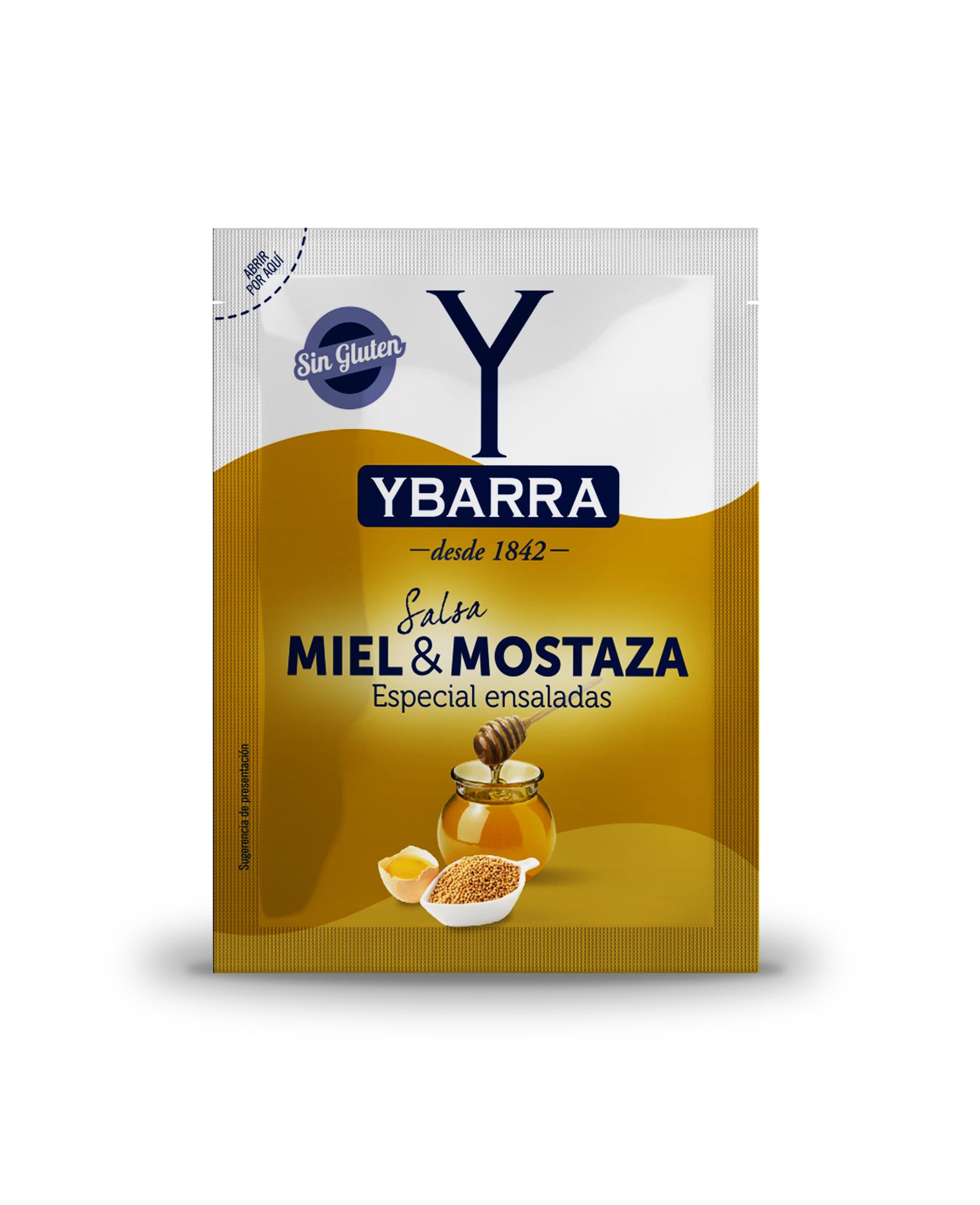 Salsa Miel y Mostaza monodosis 40gr