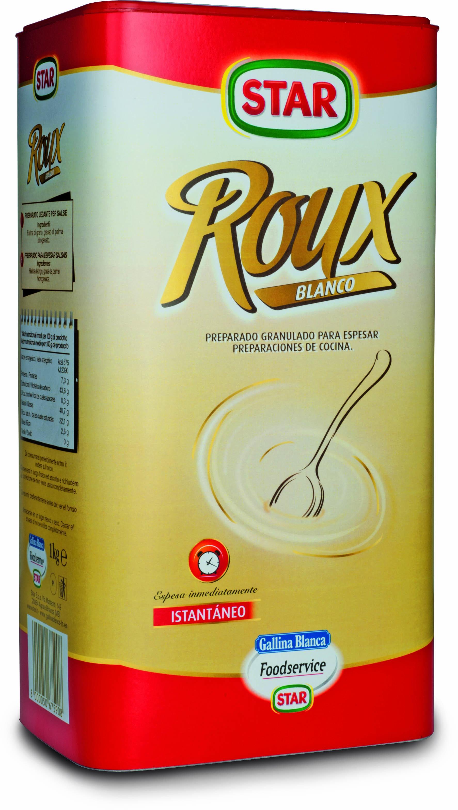 Roux Blanco, espesante, 1kg
